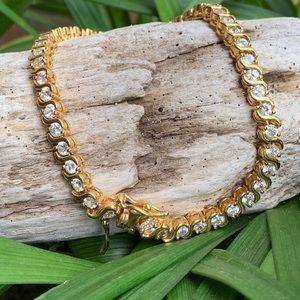 Jewelry - Beautiful CZ Diamond Tennis Bracelet